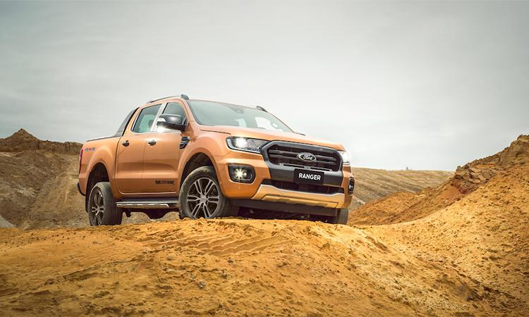 Ford Ranger 2020 giá từ 616 - 918 triệu đông. Ảnh:Ford.