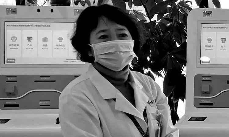 Bác sĩ Xu Hui, người đột tử hôm 7/2 sau 18 ngày làm việc liên tiếp chống dịch viêm phổi. Ảnh: Global Times.