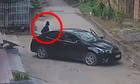 Camera ghi lại cảnh đỗ xe của nữ tài xế vụng về