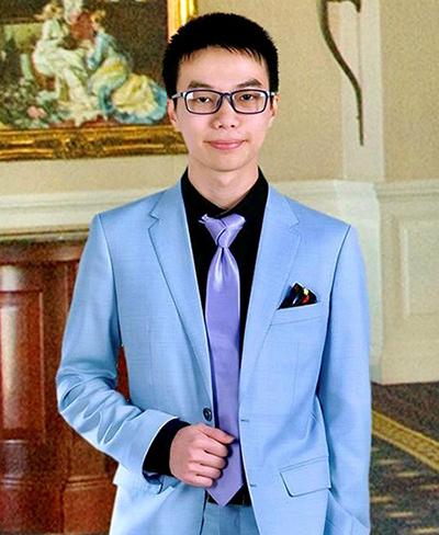 Vũ Việt Bách, hiện là sinh viên Đại học Canterbury (New Zealand).