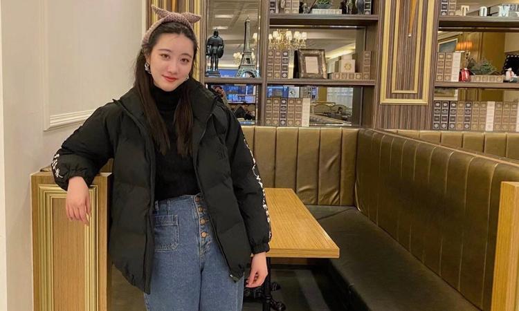 Iris Yao tại một nhà hàng trên đảo Jeju, Hàn Quốc. Ảnh: NY Times.