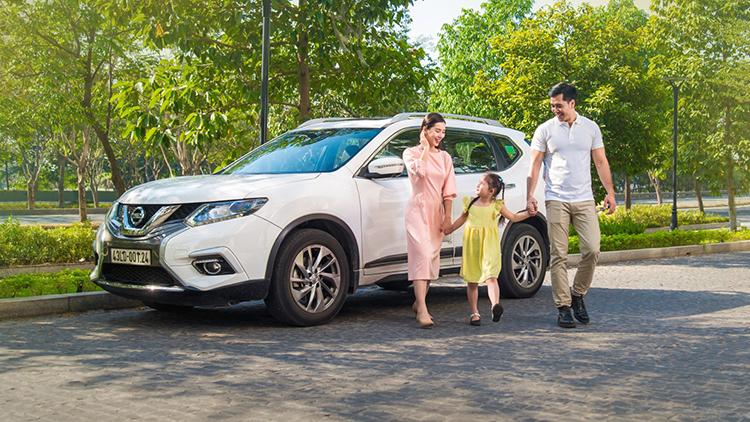 Nissan X-Trail là mẫu xe phù hợp với gia đình.