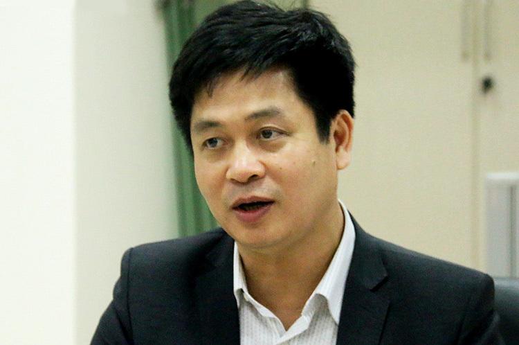 PGS Nguyễn Xuân Thành trao đổi với báo chí tối 14/2. Ảnh:Văn phòng Bộ Giáo dục và Đào tạo.