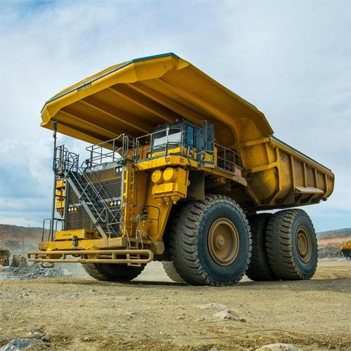Một mẫu xe tải khai thác mỏ của Anglo American. Ảnh: Anglo American
