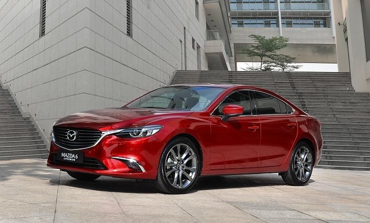 Mazda6 mang thiết kế Kodo đặc trưng.