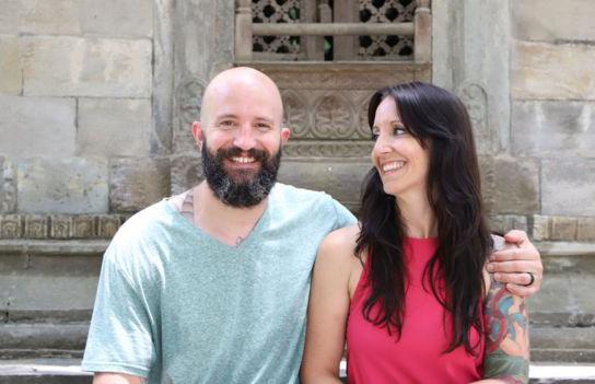 Matthew và vợ vừa mua nhà mới. Ảnh: Matthew Hahn.