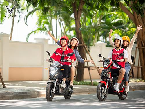 Bộ đôi VinFast Impes và Ludo tại Việt Nam.