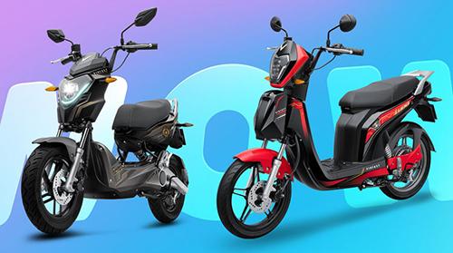 Hai mẫu xe điện của VinFast có thiết kế cá tính, hướng đến người dùng trẻ.