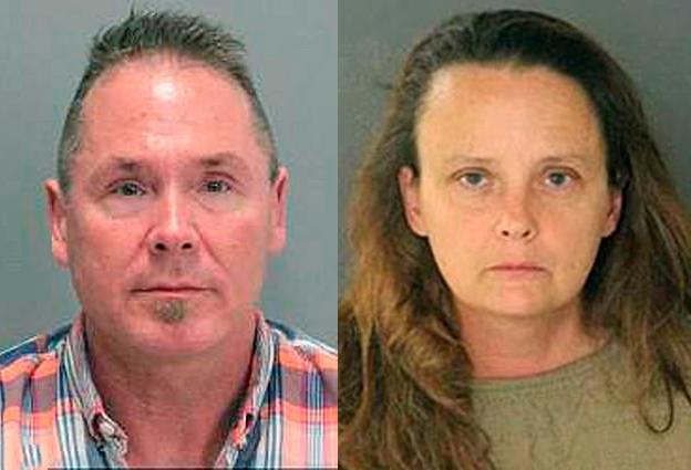 Michael Kellar và Gail Burnworth. Ảnh: AP.