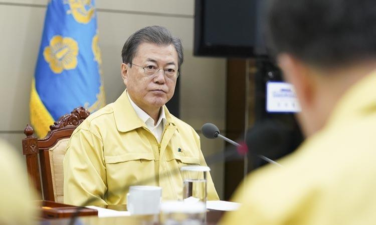 Tổng thống Hàn yêu cầu kiểm tra sự kiện của Tân Thiên Địa