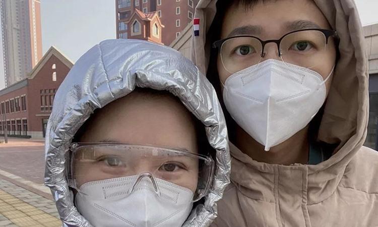 Nỗi lòng người vợ Vũ Hán có chồng nghi nhiễm nCoV
