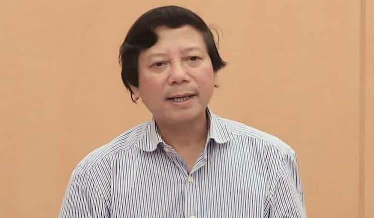 Giám đốc Sở Y tế Hà Nội Hoàng Đức Hạnh. Ảnh: Võ Hải