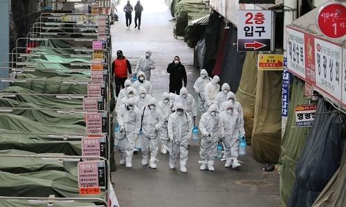 Hàn Quốc nâng cảnh báo nCoV lên mức cao nhất