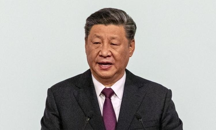 Chủ tịch Trung Quốc Tập Cận Bình tại Macau tháng 12/2019. Ảnh: Reuters.