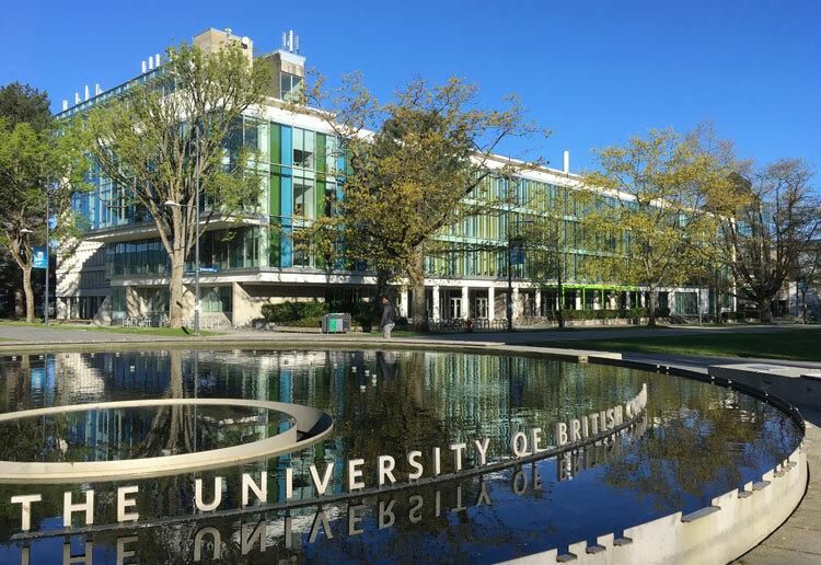 Một góc University of British Columbia, trườngđứng thứ ba trong top10 đại học tốt nhất Canada năm 2020. Ảnh: Anh Thi