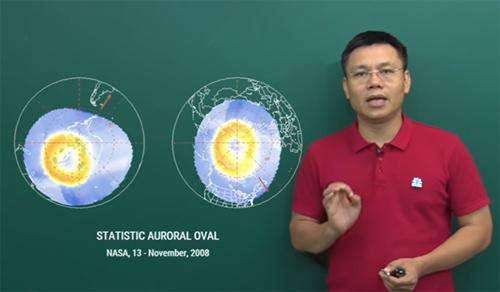 Tiến sĩ Nguyễn Thành Nam - giáo viên Vật lý, Truyền hình Giáo dục Quốc gia VTV7.