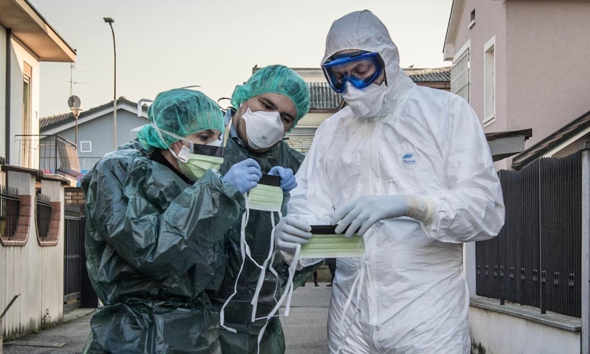 """Virus corona khiến toàn cầu """"ốm yếu"""""""
