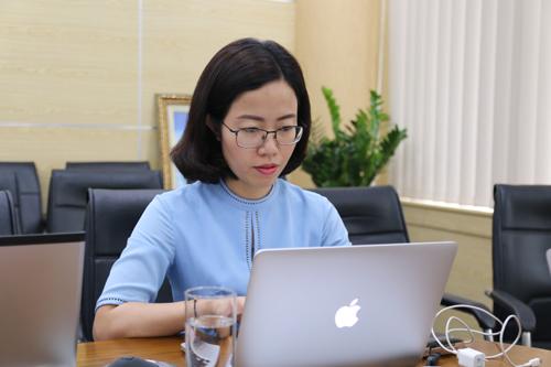 Bà Vũ Thu Chinh - Giám đốc Tuyển sinh, Trường Đại học FPT.