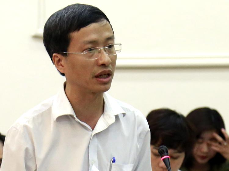 PGS. TS Phan Trọng Lân, Viện trưởng Viện Pasteur TP HCM. Ảnh: Trung Sơn