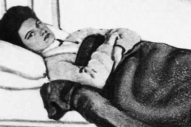 Mary Mallon tại bệnh viện ở New York năm 1907. Ảnh: Commons.