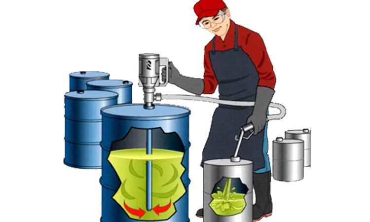 Bài toán chia số dầu trong thùng khiến nhiều người đau đầu