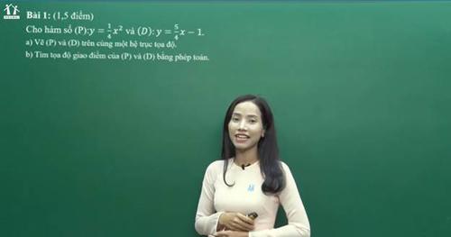 Cô Thạch Thị Nhân - Giáo viên môn Toán tại Hệ thống Giáo dục Học Mãi.