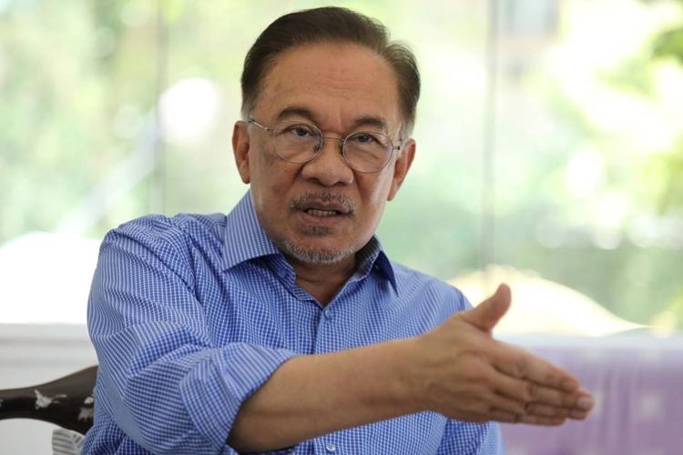 AnwarIbrahim tại Petaling Jaya ngày 6/2. Ảnh: Reuters.