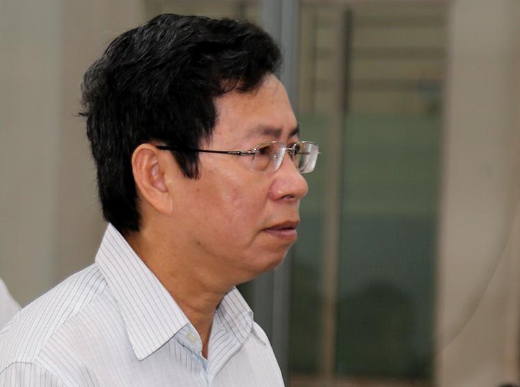 Ông Lê Huy Toàn, Phó chủ tịch Nha Trang tại tòa ngày 27/2. Ảnh: Xuân Ngọc.
