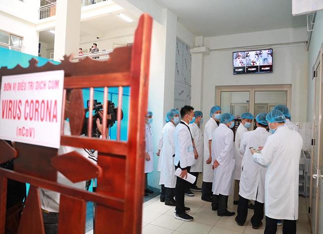 Khu cách ly điều trị bệnh nhân nhiễm nCoV củabệnh viện Trung ương Huế. Ảnh: Ngọc Minh