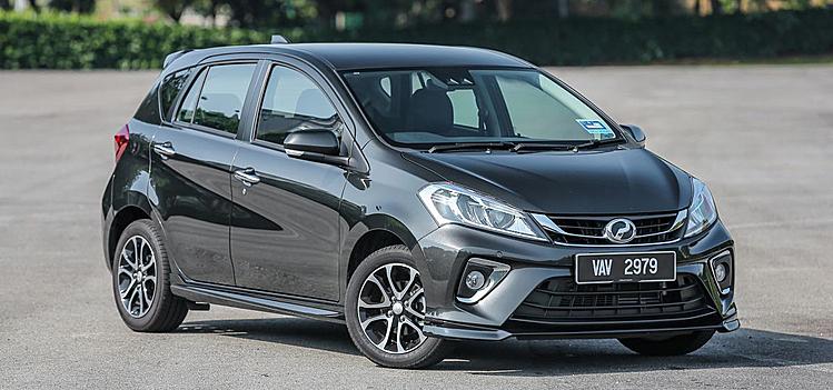 Mẫu xe đô thị nội địa Malaysia, Perodua Myvi. Ảnh: Paultan