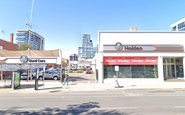 Một cơ sở khác của City Holden tại Adelaide. Ảnh: Google Maps