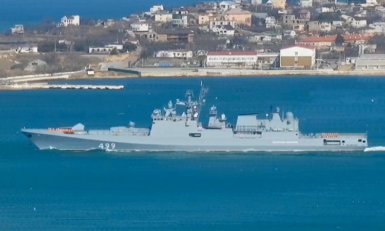 Nga điều hai tàu hộ vệ tên lửa đến Syria