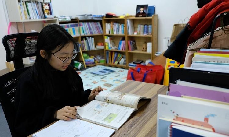 Hwang Hyun-bi, 12 tuổi. Ảnh: Washington Post.