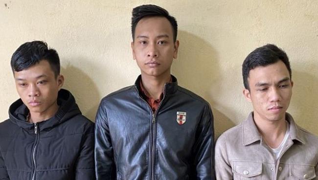 Ba nghi phạm mới bị bắt ở Thanh Hoá.