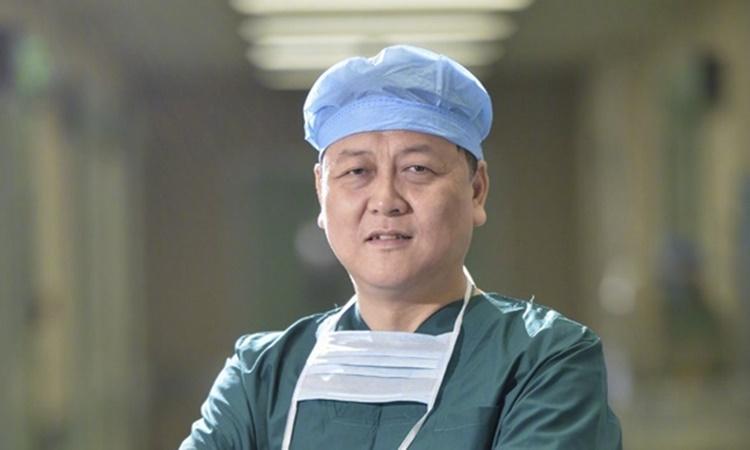 Bác sĩ Giang Học Khánh. Ảnh: Xinhua.