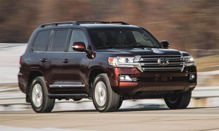 Toyota Land Cruiser - mẫu xe bền bỉ nhất sau quãng đường hơn 321.000 km. Ảnh: Car and Driver