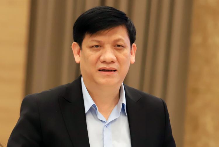 Thứ trưởng Y tế Nguyễn Thanh Long. Ảnh: Viết Tuân