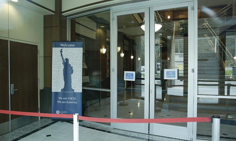 Văn phòng Bộ An ninh Nội địa Mỹ tại bang Washington đóng cửa hôm nay. Ảnh: AFP.