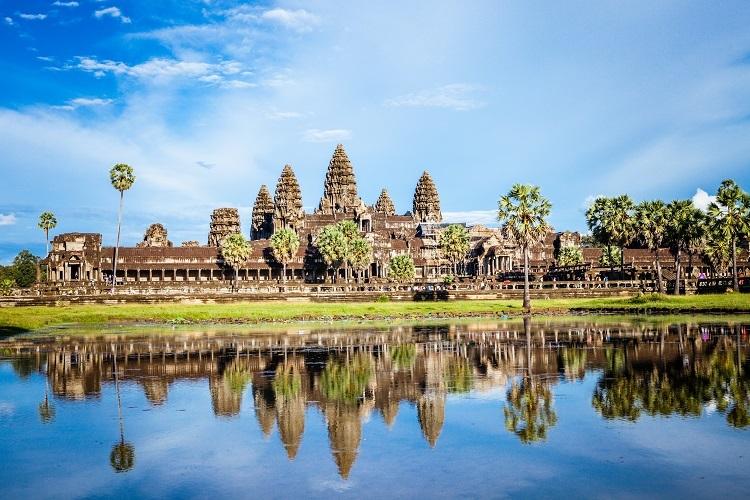 Công trình biểu tượng của Campuchia. Ảnh: Shutterstock.