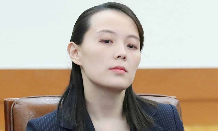 Kim Yo-jong tại Hàn Quốc đầu năm 2018. Ảnh: Reuters.