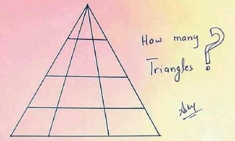 Có bao nhiêu hình tam giác?