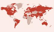 Bản đồ Covid-19 toàn thế giới