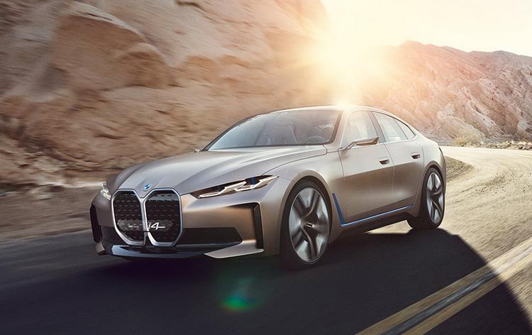 Concept i4 - tương lai xe điện của BMW - VnExpress