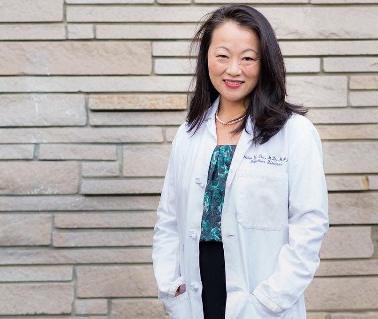 Chuyên gia về bệnh truyền nhiễm Helen Chu. Ảnh: Nature.