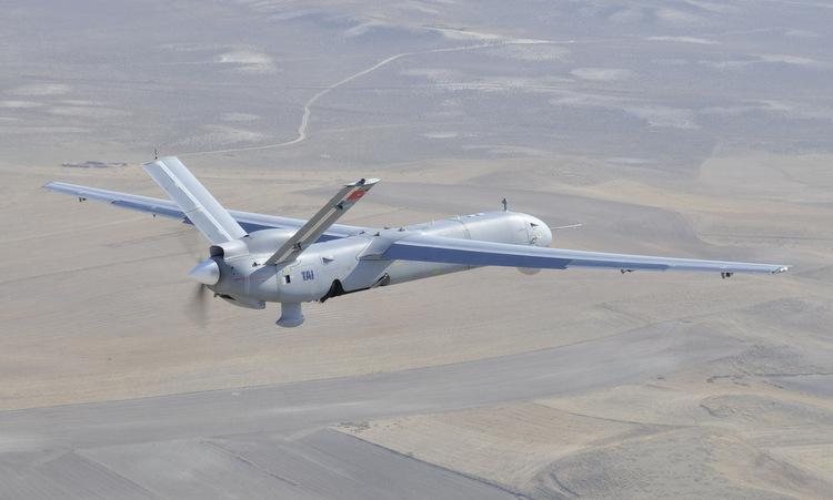 Một chiếc Anka-S bay thử tại Thổ Nhĩ Kỳ hồi năm 2011. Ảnh: Defpost.