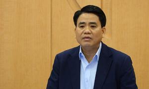 Chủ tịch Hà Nội yêu cầu phun khử khuẩn toàn quận Ba Đình