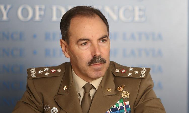 Tướng Farina trong cuộc họp tại trụ sở NATO hồi năm 2017. Ảnh: ANSA.