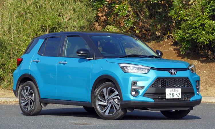 Toyota Raize với ngoại hình hao hao RAV4, bán tại Nhật từ tháng 11/2019. Ảnh: Response