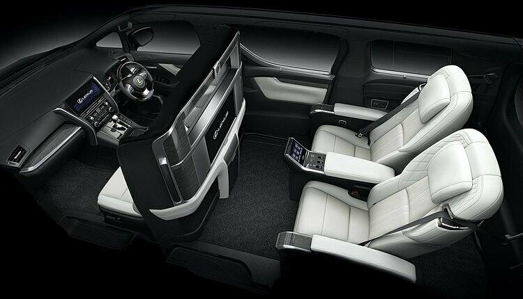 LM 300h phiên bản bốn chỗ. Ảnh: Lexus.
