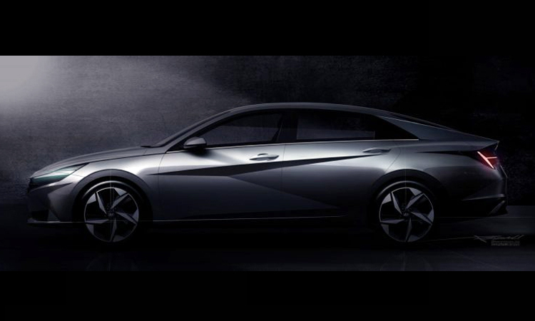 Elantra th? h? m?i v?i các ???ng c?t x?, d?p n?i táo b?o. ?nh: Hyundai